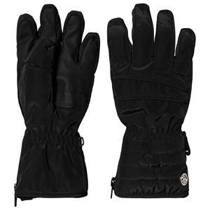 Image of Poivre Blanc Ski Gloves Black Ski gloves and mittens
