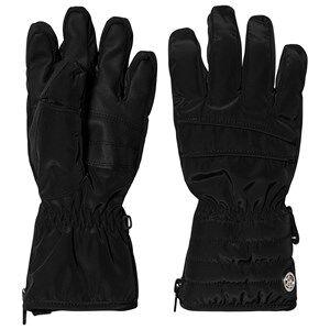Image of Poivre Blanc Ski Gloves Black Ski gloves and mittens