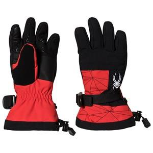 Image of Spyder Overweb Ski Glove Red/Black Ski gloves and mittens