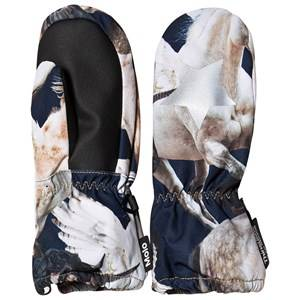 Image of Molo Igor Mittens Unicorn and Pegasus Ski gloves and mittens