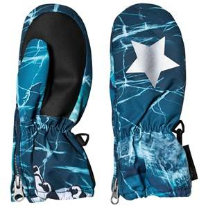 Image of Molo Igor Mittens Frozen Ocean Ski gloves and mittens