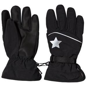 Image of Molo Mack Active Gloves Very Black Ski gloves and mittens