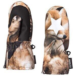 Image of Molo Igor Mittens Fox Camo Ski gloves and mittens