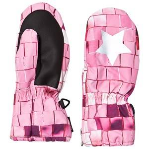 Image of Molo Igor Mittens Pink Disco Ski gloves and mittens