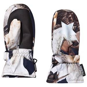 Image of Molo Mitzy Mittens Unicorn and Pegasus Ski gloves and mittens