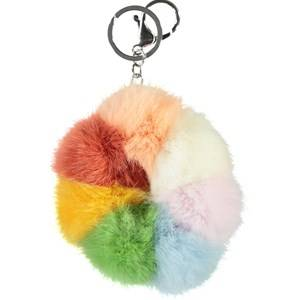 Image of Molo Pom Pom Keychain Rainbow Magic Keyrings