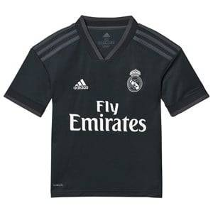 Image of Real Madrid Real Madrid 18 Away Shirt Black 11-12 years (152 cm)