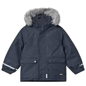 Minymo Tussor Jacket Ombre Blue Winter coats