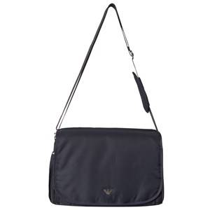 Giorgio Armani Emporio Armani Navy Logo Changing Bag with Mat and Bottle Holder