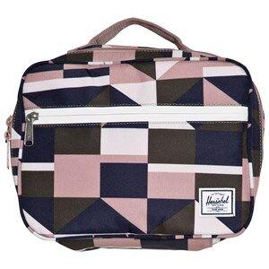 Herschel Pop Quiz Lunch Box Frontier Geo/Ash Rose Lunch bags