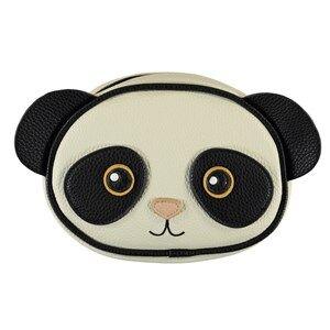 Image of Molo Panda Shoulder Bag Black/White Handbags