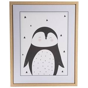 FORM Living Penguin Poster with Frame Posters