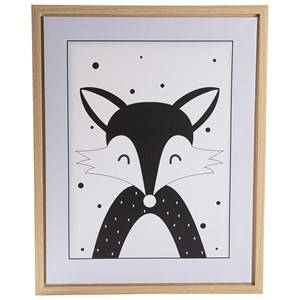 FORM Living Fox Poster with Frame Posters