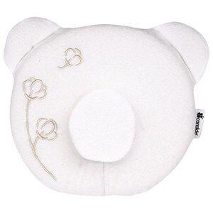 Candide Unisex Bedding White Panda Pillow White Organic