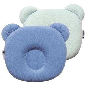 Candide Unisex Bedding Blue P'tit Panda Pillow Blue