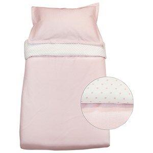 Vinter & Bloom Girls Bedding Pink Gingham Bassinet Bed Set Pink Rose