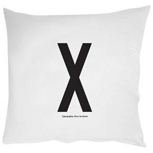 Design Letters Unisex Bedding White Pillowcase X 60 x 50 cm