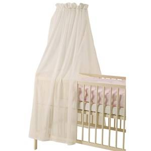 Baby Dan Unisex Norway Assort Bedding White Voile Canopy White