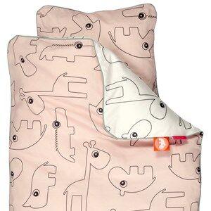 Done by Deer Unisex Baby Gear Bedding Pink Contour Baby Bedlinen Powder