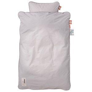 Done by Deer Unisex Baby Gear Bedding Grey Candyfloss Junior Bedlinen Grey