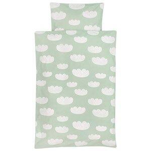 ferm LIVING Unisex Bedding Green Cloud Bedding - Mint - Junior