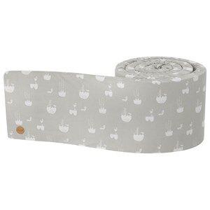 ferm LIVING Unisex Bedding Grey Landscape Bed Bumper
