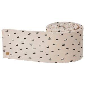 ferm LIVING Unisex Bedding Pink Rabbit Bed Bumper
