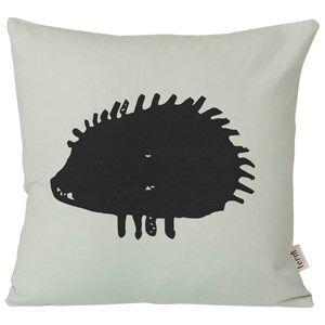 ferm LIVING Unisex Bedding Grey Hedgehog Cushion