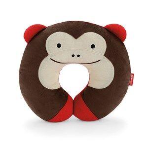 Skip Hop Unisex Bedding Brown Zoo Travel Neckrest Monkey