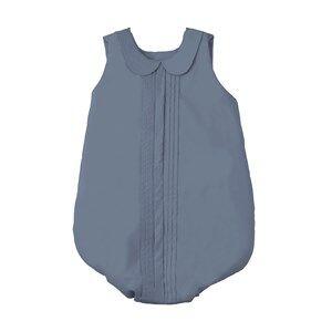 garbo&friends; Unisex Bedding Pleats Steel Blue Sleeping Bag