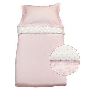Vinter & Bloom Girls Bedding Pink Gingham Crib Bed Set Pink Rose