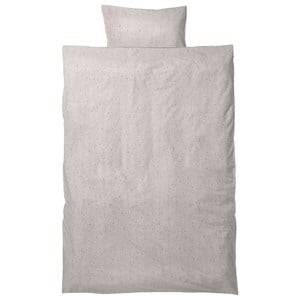 ferm LIVING Unisex Bedding White Hush Bedding - Milkyway Cream Junior Set