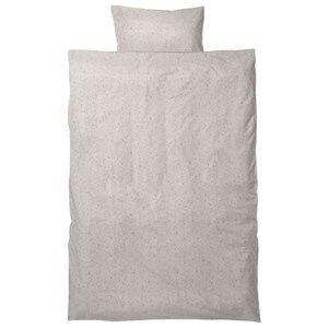 ferm LIVING Unisex Bedding White Hush Bedding - Milkyway Cream Junior Set