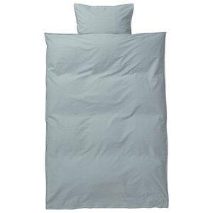 ferm LIVING Unisex Bedding Blue Hush Bedding - Dusty Blue Junior Set