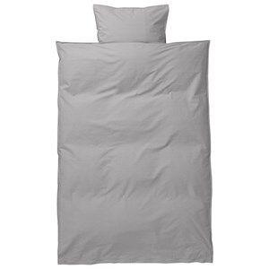 ferm LIVING Unisex Bedding Grey Hush Bedding - Grey Junior Set