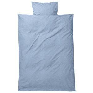 ferm LIVING Unisex Bedding Blue Hush Bedding - Light Blue Junior Set