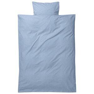 ferm LIVING Unisex Bedding Blue Hush Bedding - Light Blue Baby Set