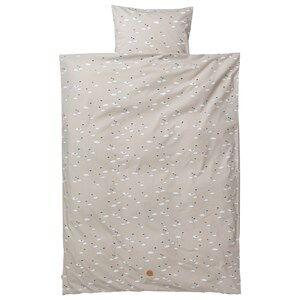 ferm LIVING Unisex Bedding Grey Swan Bedding Grey - Baby Set
