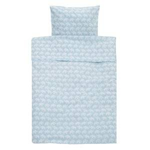 Elephant Unisex Bedding Blue Bed Set Junior Elephant Eco Blue