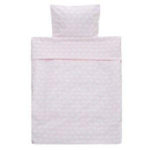 Elephant Unisex Bedding Pink Bed Set Junior Elephant Eco Pink