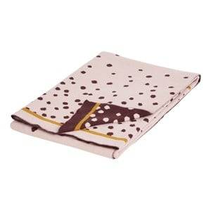Done by Deer Knitted Blanket Happy Dots Powder