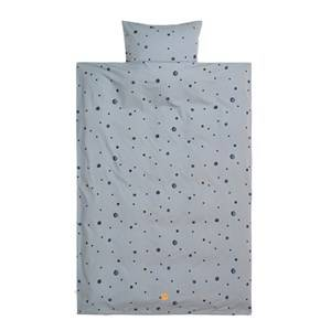 ferm LIVING 70x100 Moon Bedding - Baby - Faded Blue