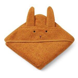 Liewood Albert Hooded Towel Rabbit/Mustard