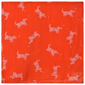 Bobo Choses Dogs Table Cloth Red Clay