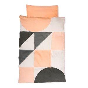 KAOS 70x100 Gjesp Organic Baby Bedding Set Peach