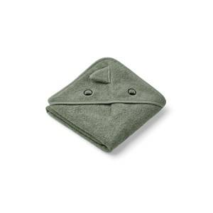 Liewood Albert Hooded Towel Dino/Faune Green