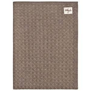 Little Jalo Knitted Baby Blanket Wood Brown