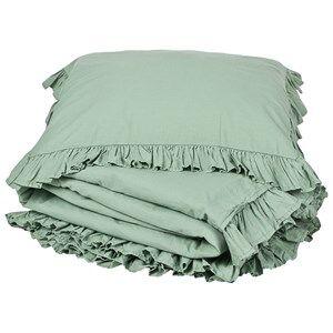 Buddy & Hope 150 x 210 Flounce Duvet Set Green Bed sets