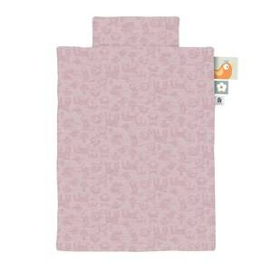 sebra 100x130 Forest Junior Bedding Set Blossom Pink SE