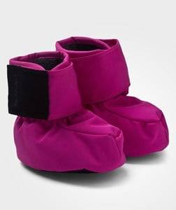 Lindberg Girls Childrens Shoes Boots Pink Alunda Booties Cerise